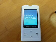 NEW- One Touch Verio IQ Blood Glucose Diabetic Meter (CASE AND MONITOR ONLY) WC