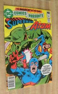 DC Comics Presents 15 Superman Atom Nice