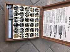 Kingsley Hot Stamp Machine 18pt Hobo Type Dies EUC