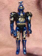 "Beetleborgs ""Blue Stinger"" Action Figure - 1996 Bandai - Metallic Paint"