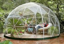 Garden Igloo Geodesic Dome Gazebo Patio Outdoor PVC Frame plastic Canopy shelter