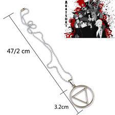 Naruto Necklace Shippuden Hidan's Jashin Charm Pendant Anime Cosplay Silver