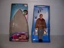 """1997 Playmates Star Trek City on the Edge Of Forever Captain Kirk  9"""" Figure"""