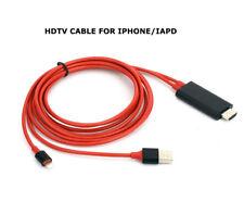 HDMI Lightning to Digital AV TV Cable Adapter Adaptor Transvert Fit iPhone iPad