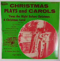 """Vintage Christmas Plays and Carols 10"""" LP, Royale Records 18177"""