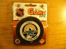 f37dc74d3 NHL 1997 All Star Game Florida Bettman Official Game Hockey Puck Collect  Pucks