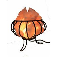 Himalayan Rock Salt Lamp Basket with 6 inch Chunks