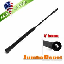 "US Black 9"" Roof Mast Whip AM FM Signal Antenna Fit Toyota Corolla Prius 03-08"