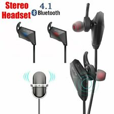 Wireless Headphones Bluetooth Earbuds Noise Canceling Waterproof Headset w/Mic