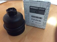 Genuine Renault Trafic ,Primastar M9R Oil Filter Cap Cover 7701476503 1520100Q0A