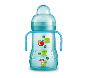 MAM Trainer Cup With Handles 8 oz - Blue