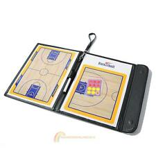 Basketball Coaching Board Coaches Clipboard Dry Erase w/marker R1BO