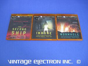 RHO AGENDA TRILOGY by Richard Phillips Audio MP3-CD Second Ship Immune Wormhole