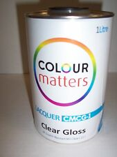 MS Clear Lacquer   1lt    2:1   2K High Gloss Clearcoat    Scratch Resistant