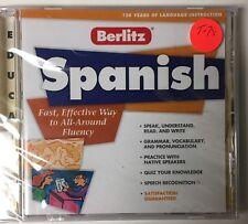 New Berlitz SpanishFor Windows and Mac 1997 T-78