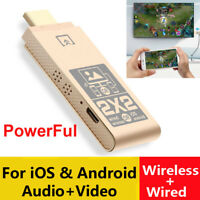 USB + WiFi 2in1 Phone Connect to TV HDTV HDMI Dongle Airplay iOS Android Adapter