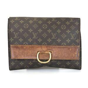 100% Authentic Louis Vuitton Yena M51808 Clutch Bag Used 1037-5-e@1d