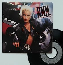 "Vinyle 45T Billy Idol  ""Don't need a gun"""