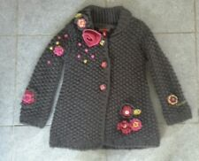 Rare most wantedl Catimini Spirit Ethnique Knitted Coat, 5a 108cm