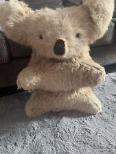More details for vintage koala bear in real kangaroo fur from australia 35cm (height)