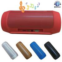 Wireless Bluetooth Speaker Stereo Bass Portable Outdoor Music Player TF Support