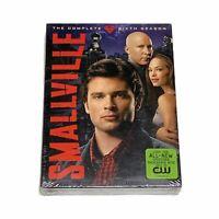 Smallville Season 6 DVD Complete Disc Set Sealed