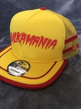 Hulk Hogan WWE New Era Hat Golfer Rare Not Released!