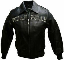 Pelle Pelle Leather Jackets for Women, Colors Black Size 4
