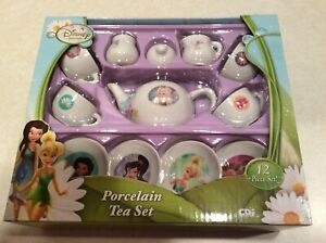 Disney Fairies 12 piece child tea set, NEW in box