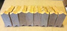 """Four Pair of Wooden Shelf Brackets With Slot Hangers Hardware 3 1/2"""" x 4 1/2"""""""