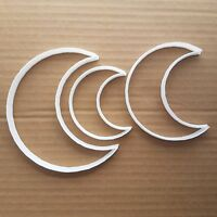 Moon Crescent Sky Space Shape Cookie Cutter Dough Biscuit Pastry Fondant Sharp