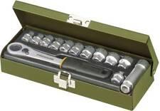 """Steckschlüsselsatz metrisch 1/4"""" (6.3 mm) 13teilig Proxxon Industrial  23602"""