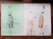 1953 women's slip lingerie buy Rogers Vanity Fair illustration art ad