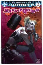 HARLEY QUINN #1 REBIRTH GABRIELE DELL'OTTO PINK VARIANT BULLETPROOF VF- 7.5
