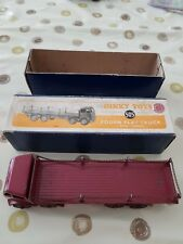 dinky toys foden flat truck with chains no 505 boxed