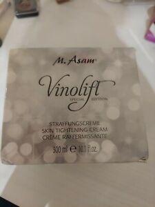 New Sealed M. Asam Vinolift Special Edition Skin Tightening Cream 10.1 oz 300mL