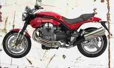 MotoGuzzi Griso850 2006 Aged Vintage SIGN A3 LARGE Retro