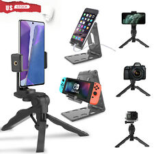 Cell Phone Fordable Desk Stand Holder Mount Cradle Dock iPhone Samsung Switch