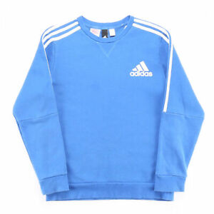 ADIDAS  Blue Classic Crew Neck Sweatshirt Mens M