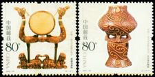 China 2004-22 Lacquerware Pottery Joint Romania 漆器与陶器 set (2 stamps) MNH