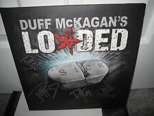GUNS N ROSES DUFF MCKAGAN SIGNED LOADED SICK AUTOGRAPH ALBUM CD SLASH AXL PROOF