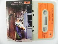 ORIETTA BERTI Cantatele con me MUSICASSETTA MC TAPE Musica Italiana POLYDOR 1973