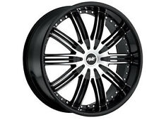 "New Avenue 603 wheels 22"" Face Machined Black or Chrome(5x114.3/5x120)(Set of 4)"