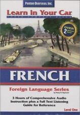 French Language Course Level 1, 3 CDs Learn in Your Car, Comprehensive Audio