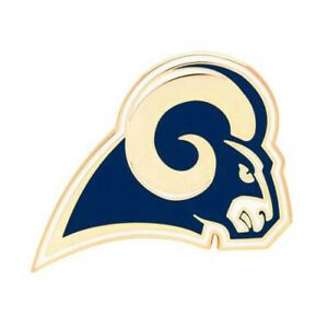 NFL LOS ANGELES RAMS PIN COLLECTORS FOR HATS OR CLOTHING NEW