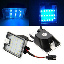 18LED Blue Side Mirror Puddle Light For Ford Mondeo MK4 Focus Kuga Escape C-Max