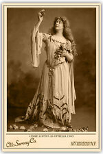 CISSIE LOFTUS 1903 Actress Beauty Otto Sarony Vintage Photograph A+ Cabinet Card