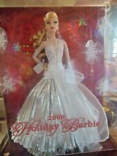 2008 Holiday Barbie Celebrating 20 yrs of Holidays Collector arbie doll