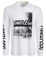 Ideology Mens T-Shirt Classic White Size 2XL Limitless Graphic Tee $30- 366