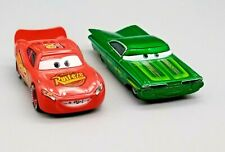 2 Disney Pixar Cars Vehicle Diecast Die Cast Collectible Toy Car McQueen